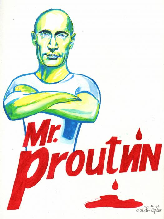 Vladimir Putin por CornelieStatiusM